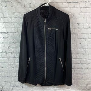 Liverpool Zip Up Quilted Panel Stretch Jacket